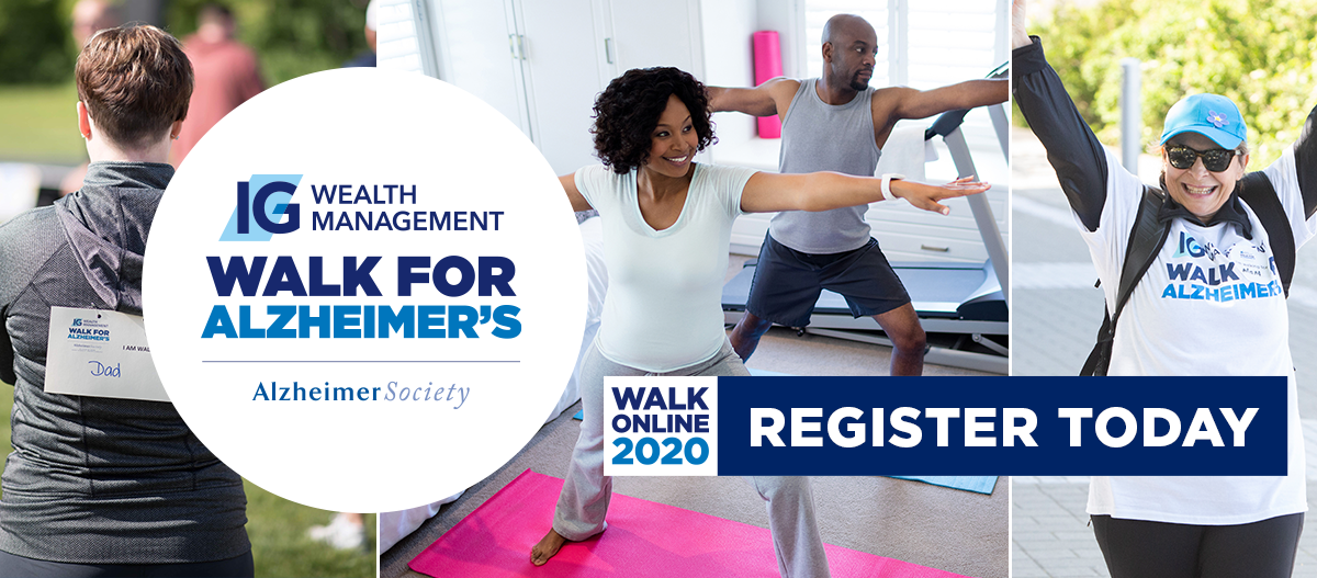 IG Wealth Management Walk for Alzheimer's 2020
